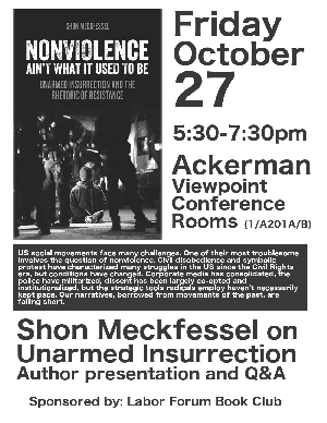 Meckfessel Unarmed Insurrection Flyer