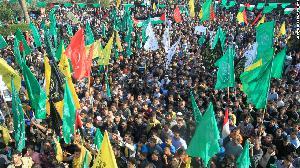 "Palestinians of Hamas Condemn Saudi & U.S. Attempts to Label Hezbollah ""Terrorist"""