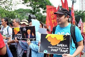 Protest vs Trump