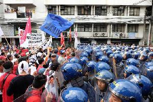 Protest against Duterte