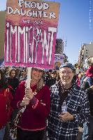 2nd Womens Day March, Los Angeles