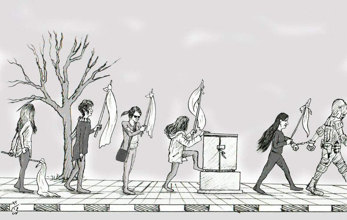 Tell Iran: Free Vida...