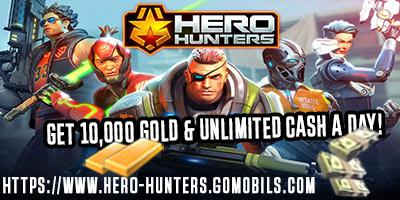 Hero Hunters Hack - Get Unlimited Bucks and Gold
