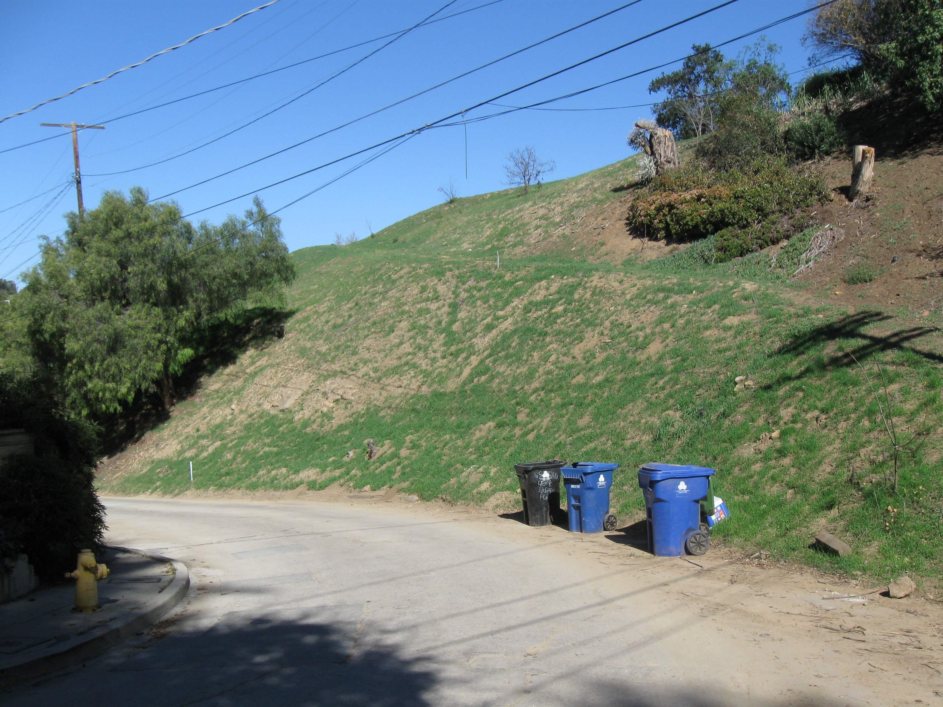 Kite Hill as seen fr...
