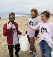 Actress and Philanthropist Tanna Frederick Hosts Project Save Our Surf Beach Clean Ups