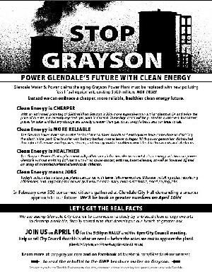 Join The Protest Rally in Glendale on April 10, 2018!