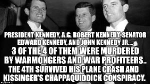 The Chappaquiddick Black Op Designed By Assassins Of JFK, RFK Etc