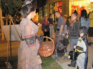 Halloween at the Montrose Peace Vigil