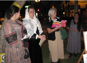 Halloween -- women in history