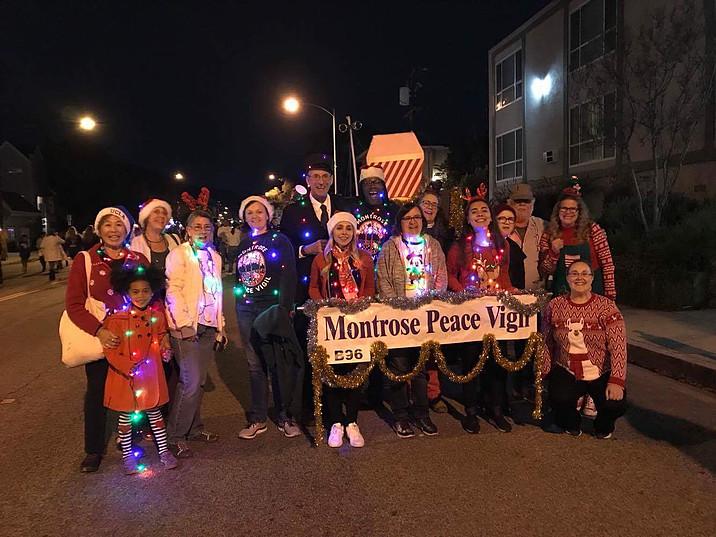 Montrose Peace Vigil...