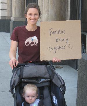 Families Belong Together March, Pasadena, CA