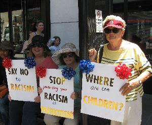 "More Pix: ""Families Belong Together,"" Pasadena"