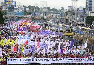 Philippines – Duterte 2 Years on: Destructive, Divisive, and Despotic