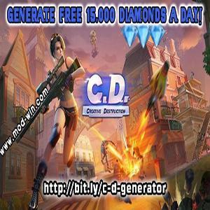 Creative Destruction Hack Diamonds Windows/iOS/Android - Creative Destruction Generator
