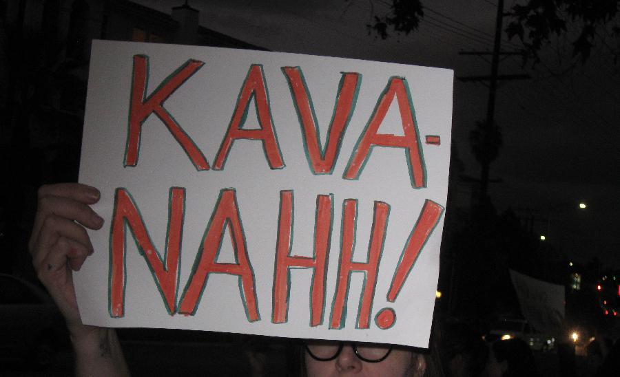 #Stop Kavanaugh vigi...