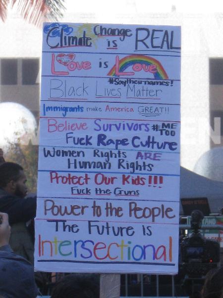Women's March LA 201...