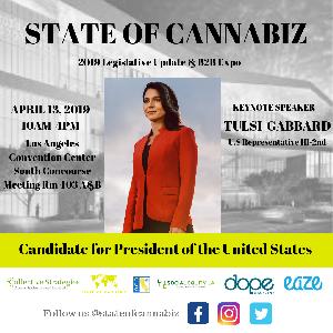 State of Cannabiz Legislative Update & B2B Expo