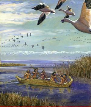 Tulare Lake before colonization