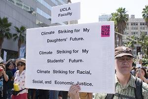 Los Angeles Climate Change Activist